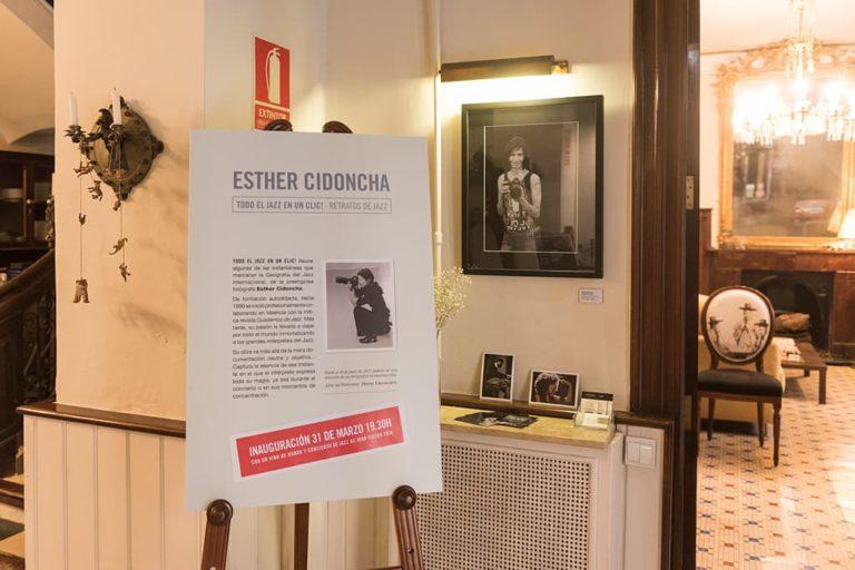 """Exposición """"Todo el Jazz en un clic"""" de Esther Cidoncha"""