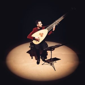 Daniel Zapico, concierto de Tiorba